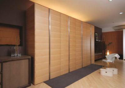 Zeyco Phuket Classical Kitchen Agathis Veneer Open Door1