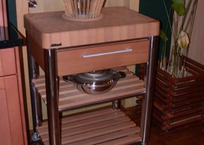 Zeyco Phuket Classical Kitchen Mobile Troly18