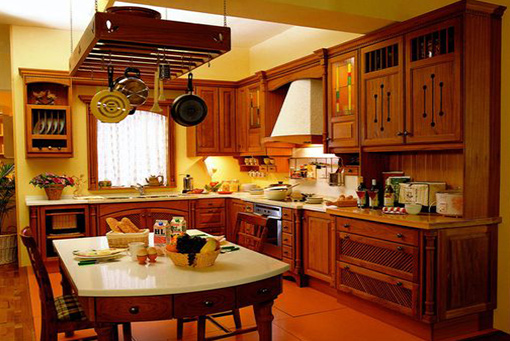 Classical Teak Kitchen