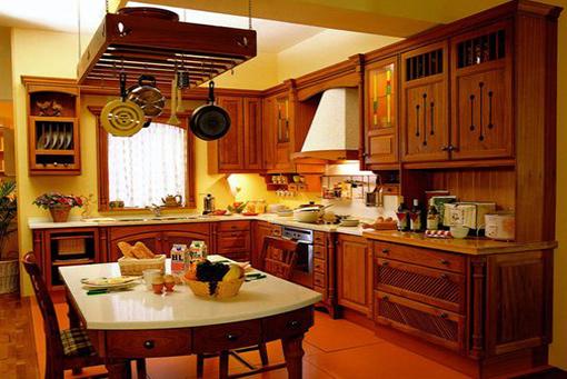 Classical Teak Kitchen