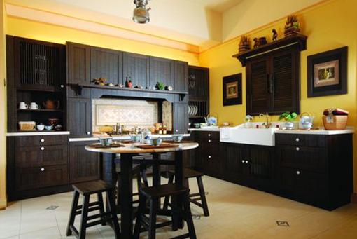 Classical Nyatoh Kitchen