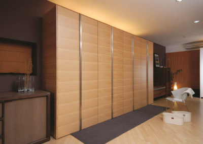 Zeyco Phuket Classical Kitchen Agathis Veneer Open Door1