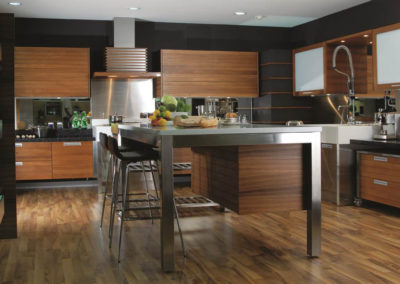 Zeyco Phuket Classical Kitchen Groove Solid Teak2