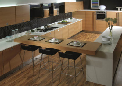 Zeyco Phuket Classical Kitchen Oak Veneer6
